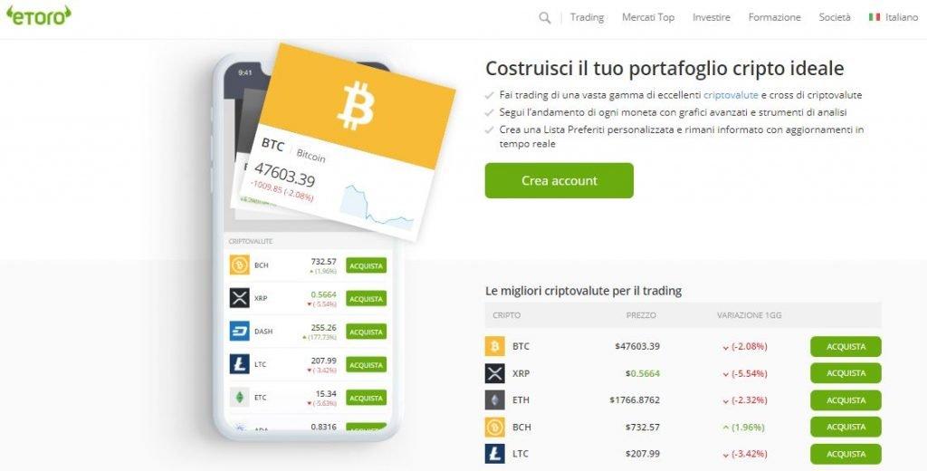 i rischi di trading bitcoin su etoro