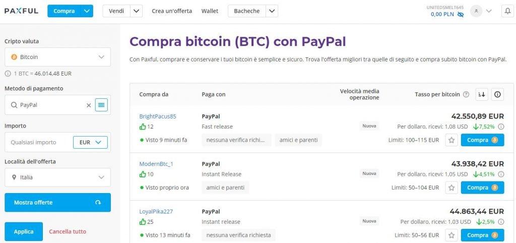 Guida semplice ed efficace su come vendere Bitcoins per PayPal - Bitcoin on air