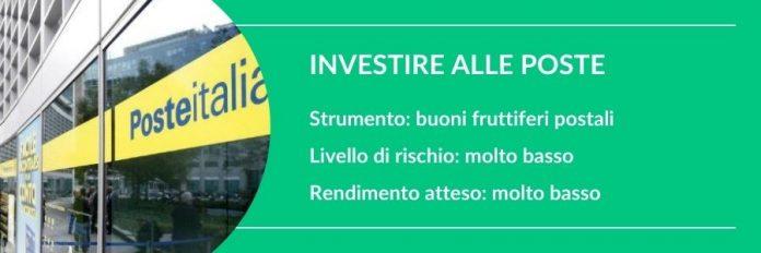 investire 1000 euro alle poste