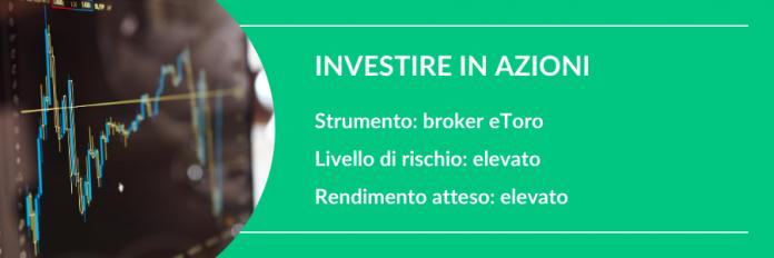 investire 10000 euro in azioni