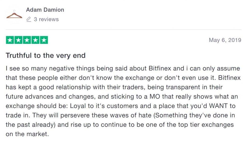 bitfinex recensioni