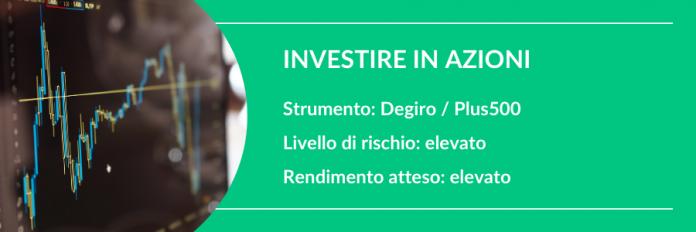investire 100 euro in azioni