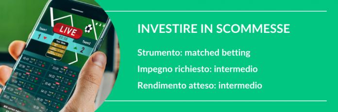 investire 100 euro in scommesse