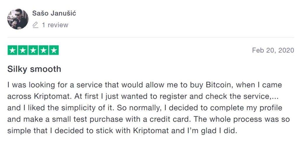 kriptomat opinioni