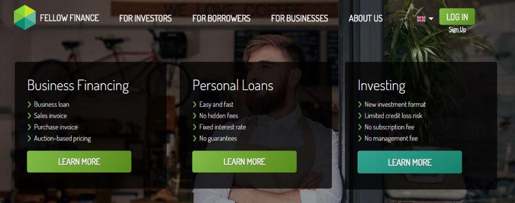 migliore piattaforma p2p lending fellow finance