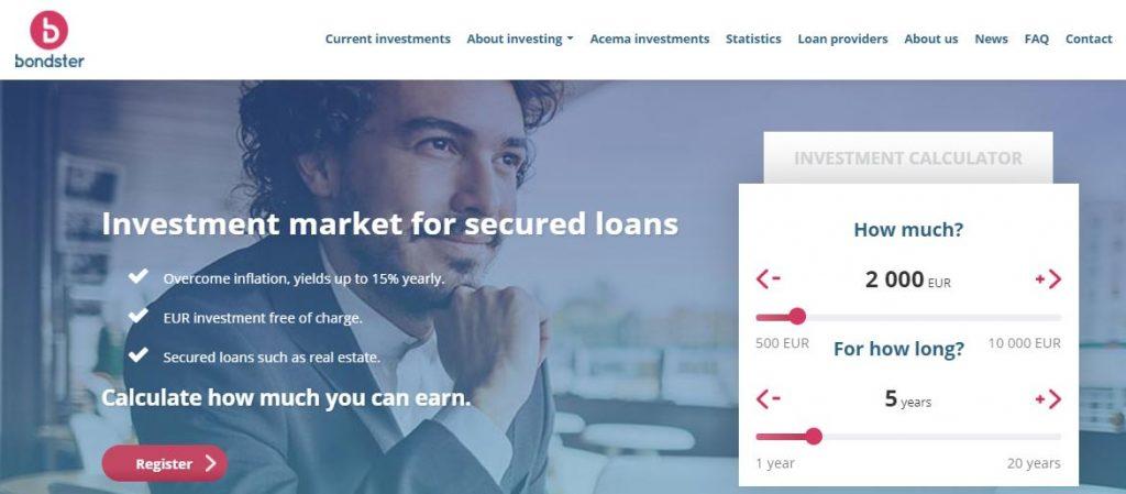 p2p lending piattaforme bondster