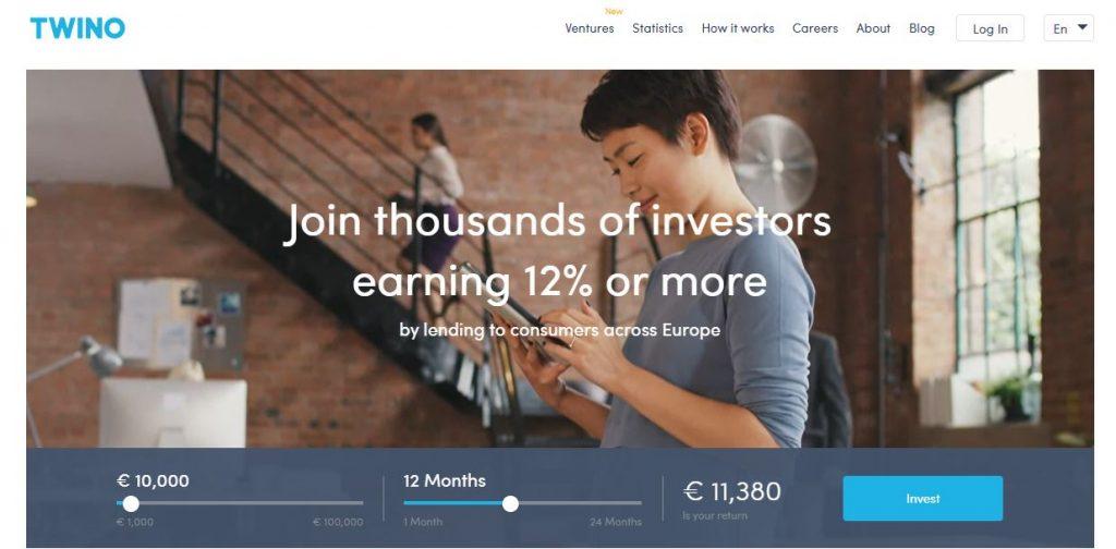peer to peer lending piattaforme twino