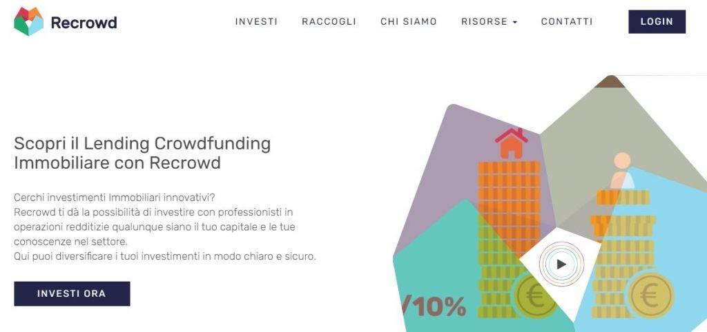 crowdfunding immobiliare migliori recrowd