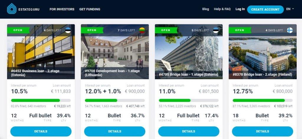 migliori piattaforme crowdfunding immobiliare estateguru