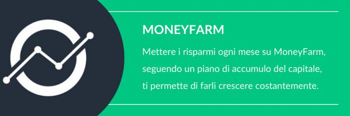 Dove mettere i risparmi ogni mese Moneyfarm