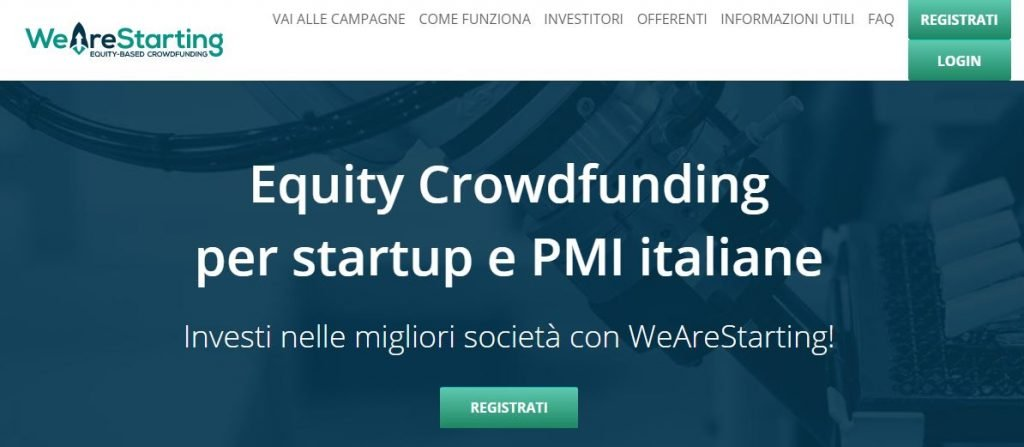 equity crowdfunding startup