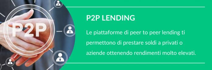 Investire piccole somme nel p2p lending