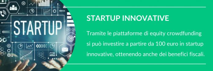 piccoli investimenti in startup innovative