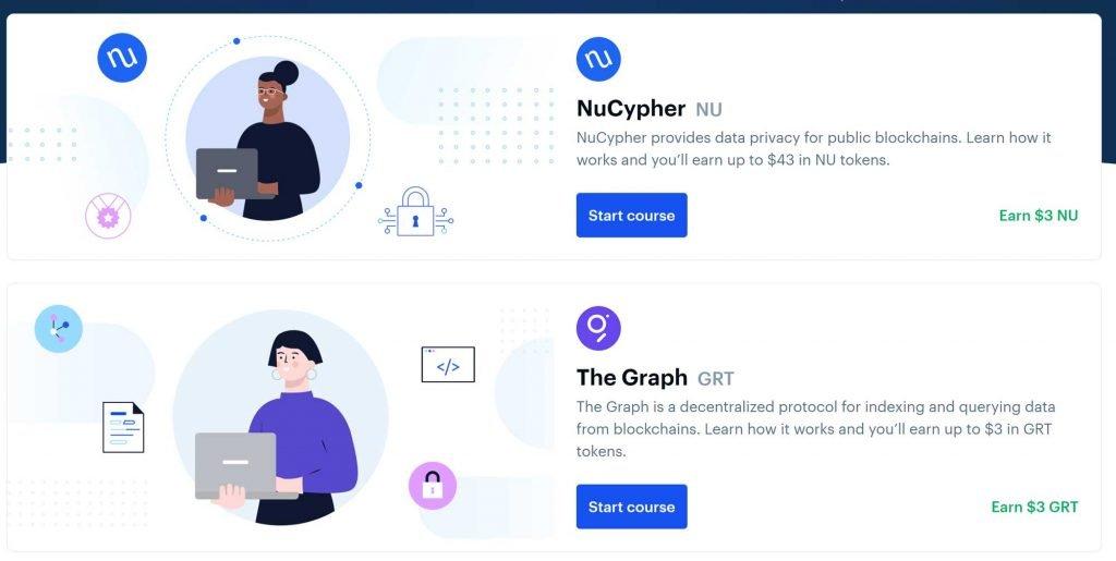 coinbase earn come funziona