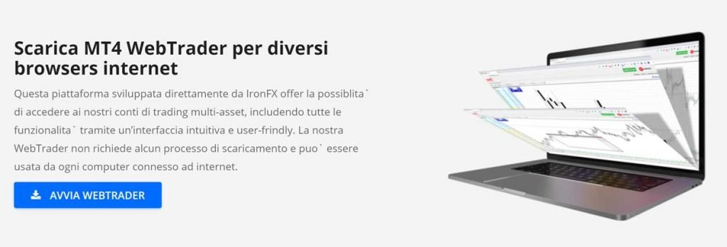 ironfx web trader