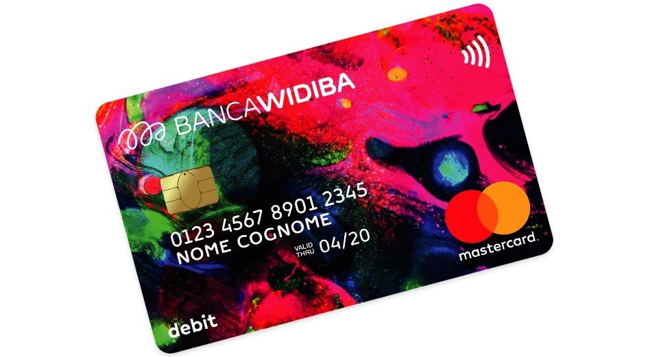widiba mastercard debit