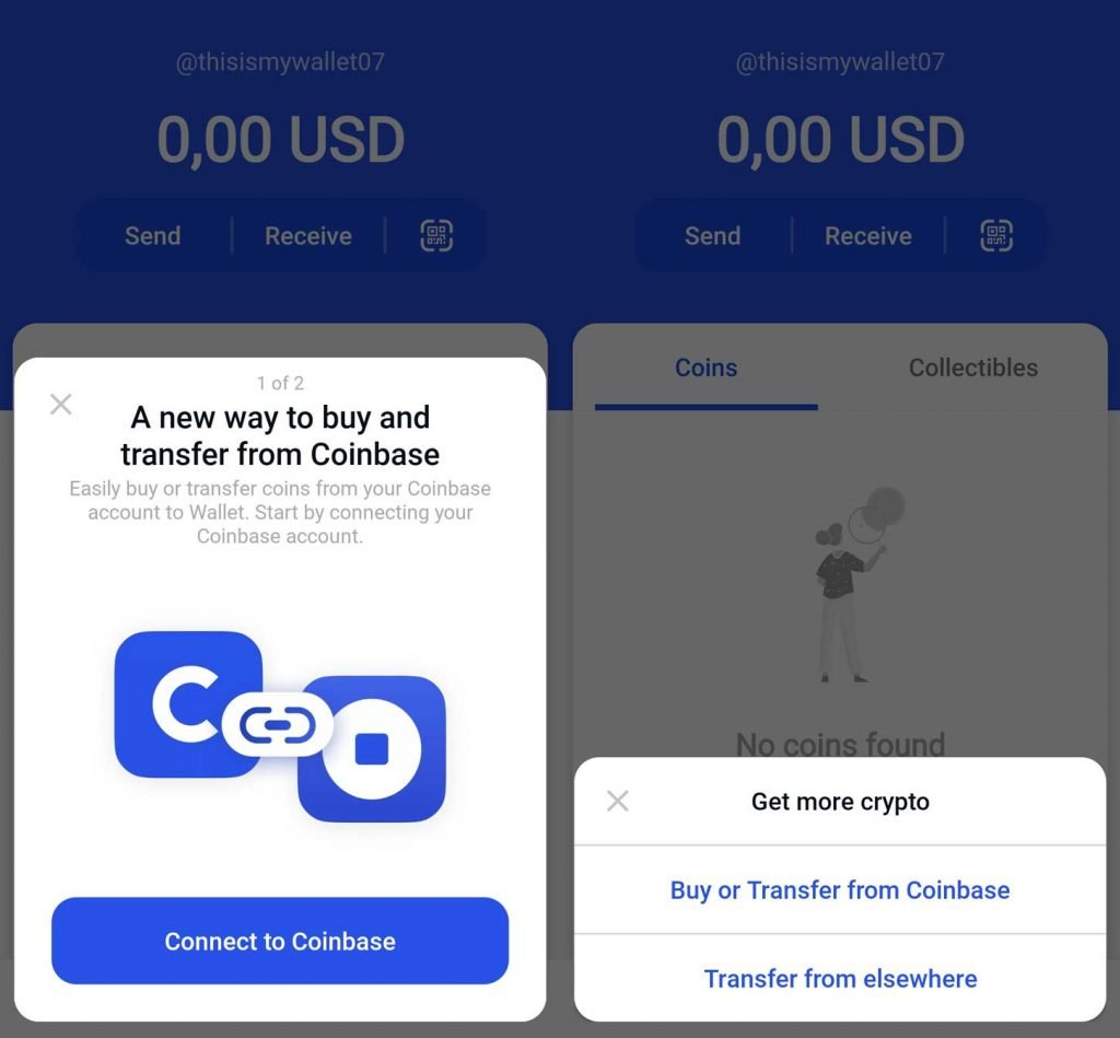 coinbase wallet come funziona