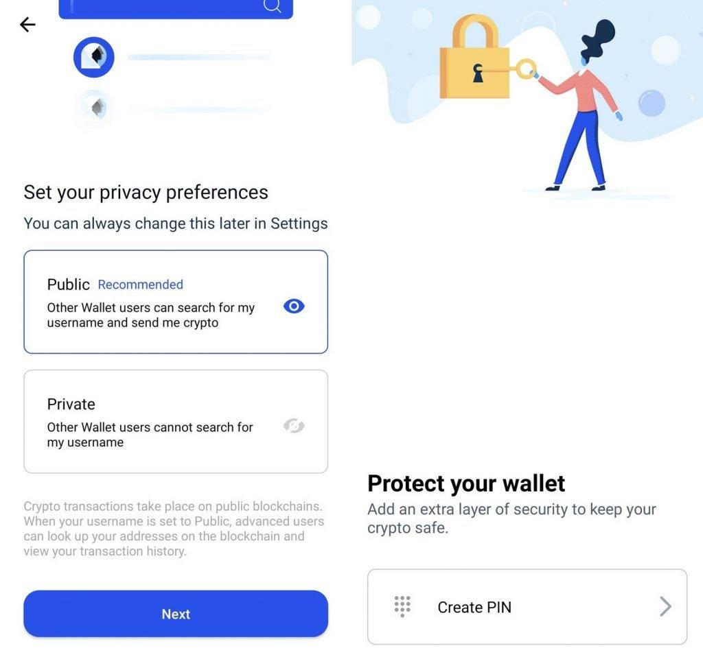coinbase wallet registrazione