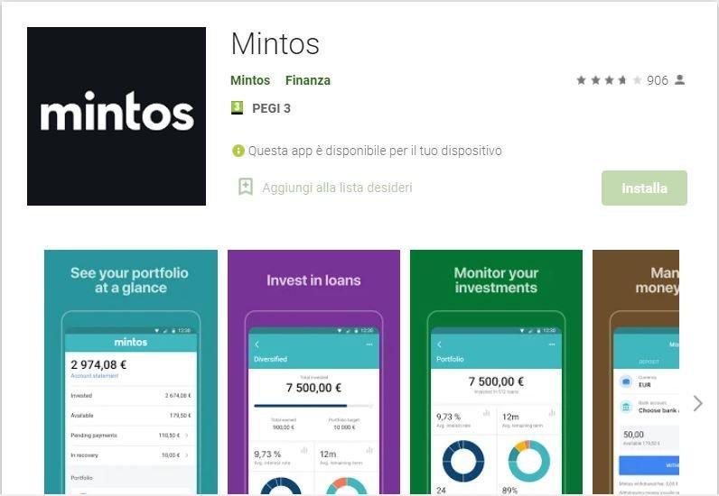 app per investire mintos