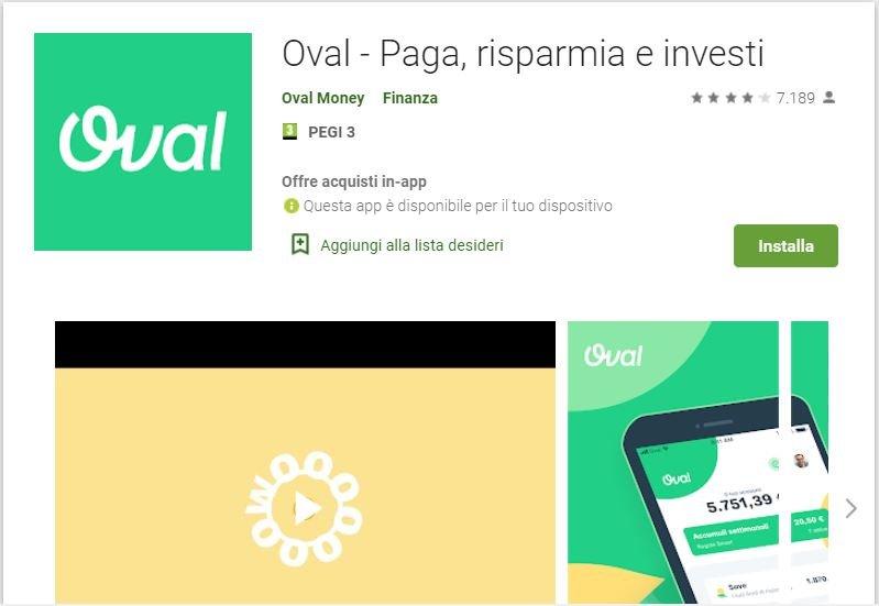 app per investire piccole somme oval