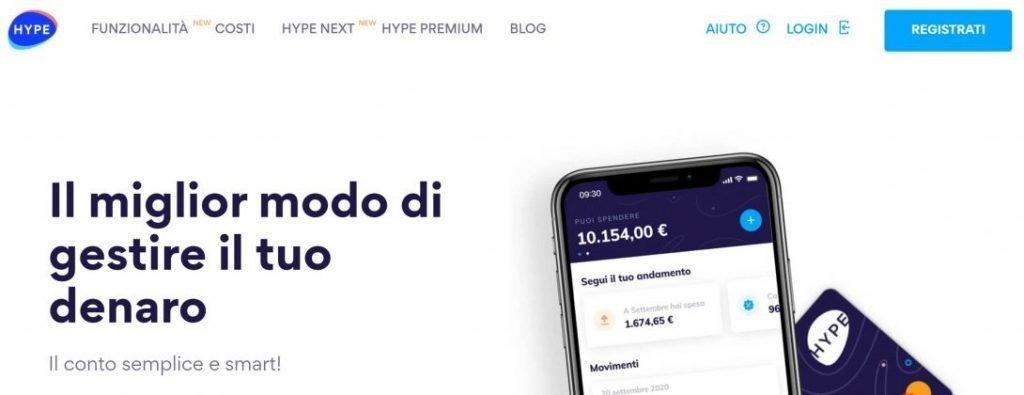 conto corrente on-line